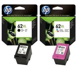 Combo Cartuchos Hp 62xl Negro + 62xl Color Officejet 200 Wis