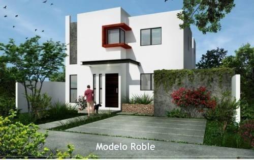 Casas En Venta En 4 Recamaras $1,670,000 Desarrollo Roble F1405-2c
