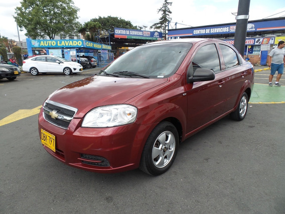 Chevrolet Aveo Emotion Mt 1600cc Aa Ab Abs