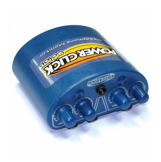 Amplificador Fone De Ouvido Power Click Color Azul Stereo