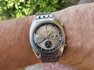Reloj Seiko 6139 6012 Cronografo Automático