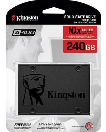 Ssd Kingston 240gb - Novo - Tenho 3