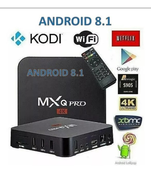 Tv Box Android 8.1 Transforma Qualquer Tv Em Smart