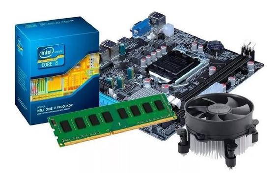 Kit Processador I5 -3470s + Placa Mãe H61 + 8gb Ddr3 + Nfe