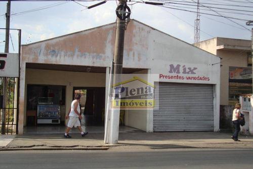 Ponto  Comercial À Venda, Vila São Francisco, Hortolândia. - Pt0026