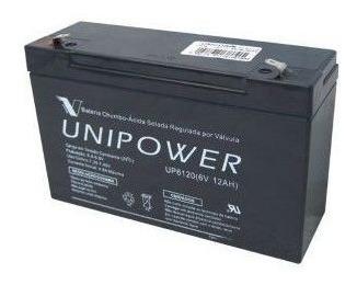 Bateria Selada Up6120 6v/12a Unipower