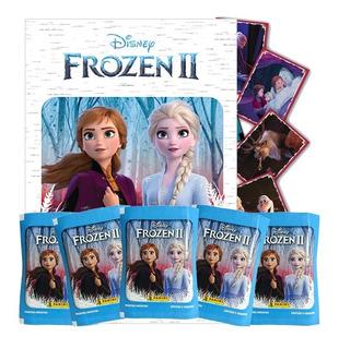 Álbum Frozen 2 Panni 2020 + 75 Figuritas + 5 Sobres Cerrados
