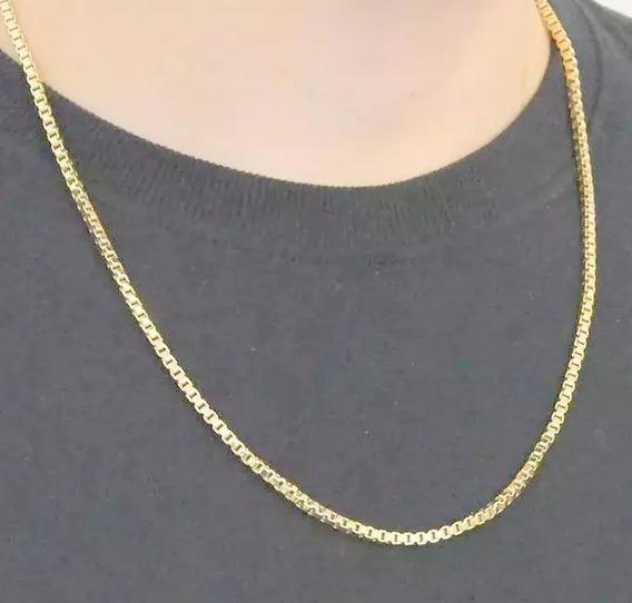 Corrente,colar,cordão Italiano Com 60 Cm Venez