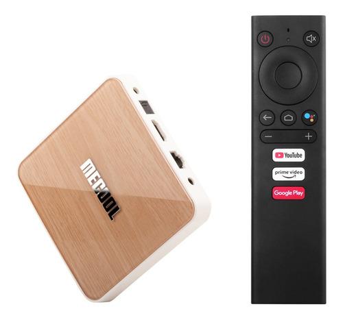 Imagen 1 de 8 de Meliol Km6 Deluxe Smart Android 10.0 Tv Box Uhd 4k Medios