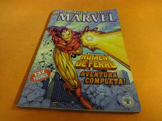 Grandes Heróis Marvel N°5 Homem De Ferro Hq Marvel Gibi