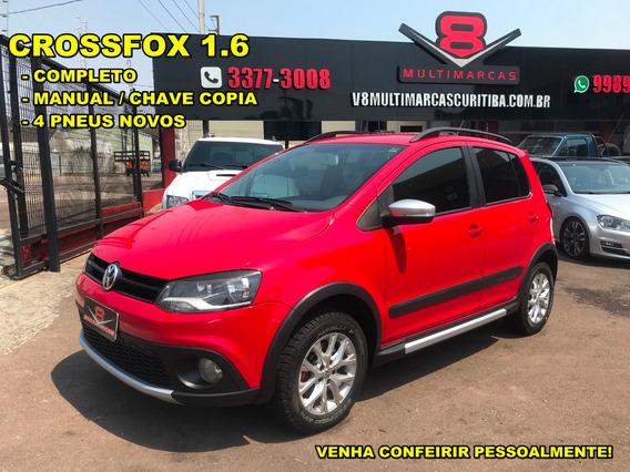 Vw Crossfox 1.6 Comp. Vermelho (n Ecosport Aircross )
