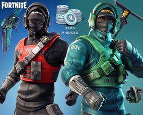 Fortnite 2000 V-bucks + Counterattack + Furtiva Pc Xbox Ps4