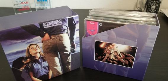 Scorpions - Box Com Coleção Original Em 11 Mini Lp Shm