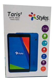 Tablet Stylos Taris Azul 16gb 2gb Ram Android 9.0 Sttta8 /vc