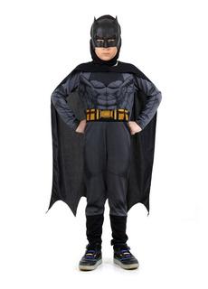 Disfraz Batman Film Con Musculos Liga Justicia Sulamericana