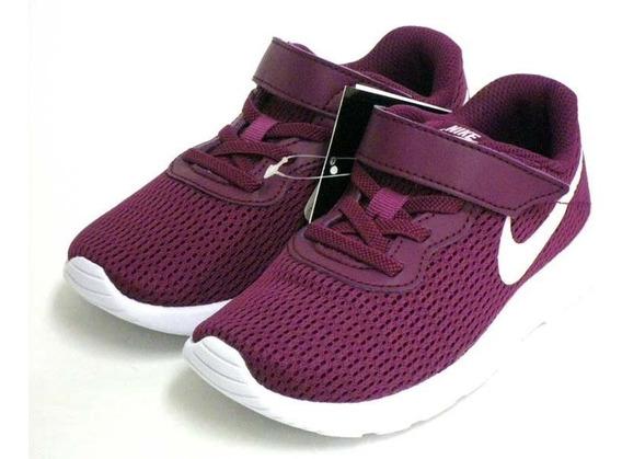 Tenis Nike Niñas Tanjun Ps Casuales Cómodos Ligeros Original