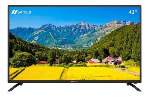 Imagen 1 de 3 de Smart Tv Sansui Smx43p28nf Led Full Hd 43