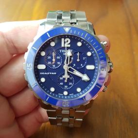 Relógio Cronógrafo Suíço Tissot Seastar 1000 W R 300 Metros