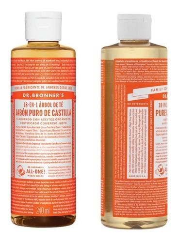 Jabon Organico Arbol De Te Dr Bronners Puro 18 En 1-fralugio