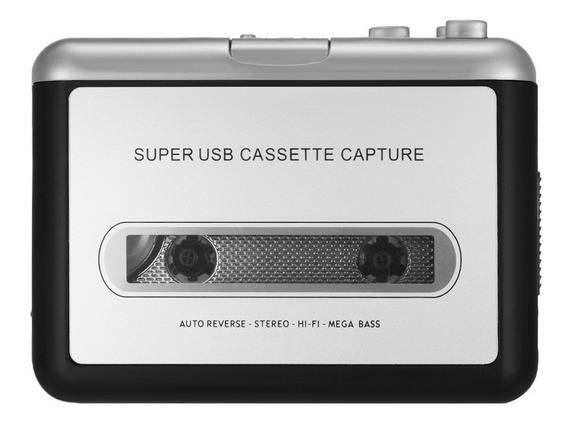 Ezcap Usb Cassette Capture Converter Fitas Para Mp3/cd Cn