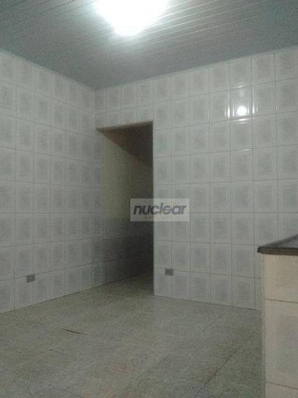 Casa Com 1 Dormitório Para Alugar, 42 M² Por R$ 550,00 - São Mateus - São Paulo/sp - Ca0088