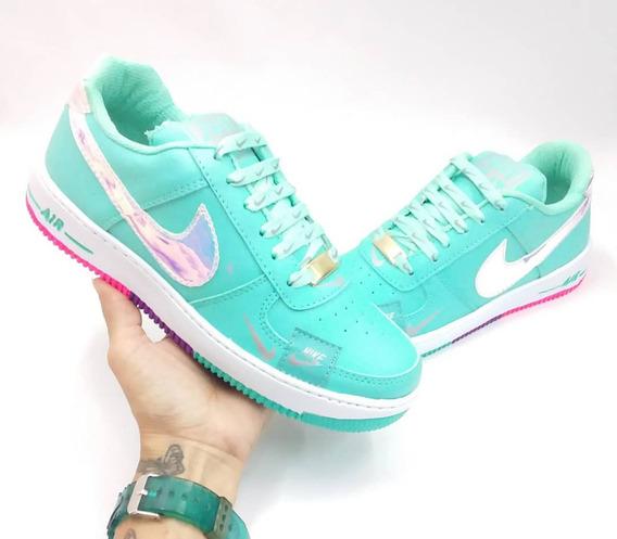 Zapatos Deportivos Nike Air Force One. Moda Colombiana