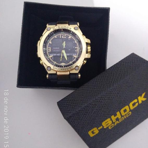 Relógio Masculino Steel Caixa Em Aço Inox