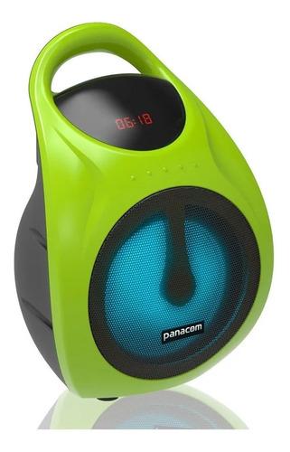 Parlante Panacom Con Bluetooth Sp-3050cm Verde Norte Cuotas