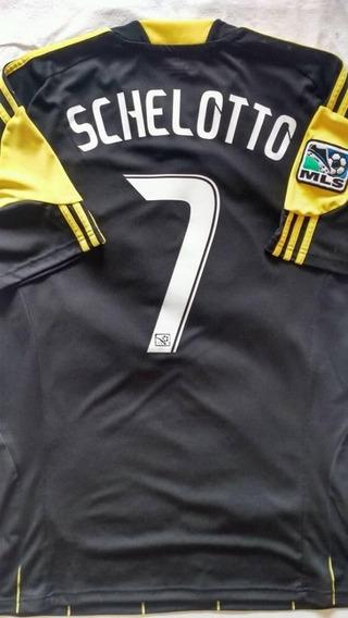 Camiseta De Columbus Crew #7 Schelotto