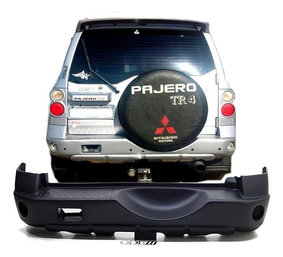 Para-choque Traseiro Pajero Tr4 2007/2009 Em Fibra