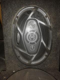 Cornetas Pionner 300w Triaxial