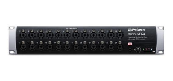 Mixer Digital De Rack Presonus Studiolive 24r - Nfe