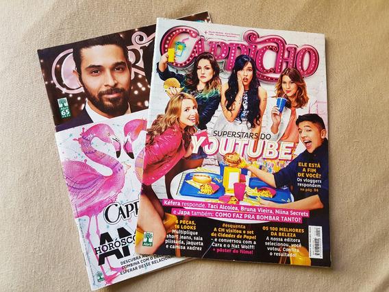 Revistas Capricho 1210 & 1211