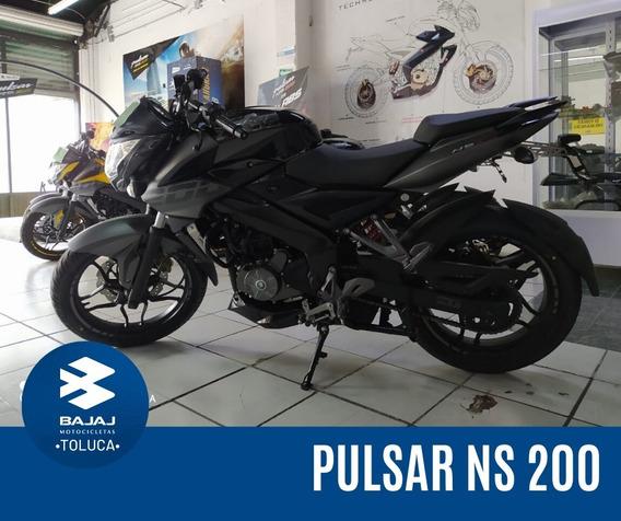 Motocicleta Bajaj Pulsar Ns 200 Modelo 2020 Nueva