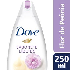 Sabonete Dove Liquido Creme Leite Peonia 250ml