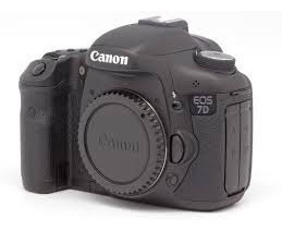 Camera Canon 7d Kit + Lente Canon 70 200 F4 Is Usm + 2x 16g
