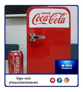Mini Cooler Coca-cola Aquece/refrigera Bivolt 12v