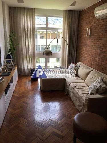 Imagem 1 de 21 de Apartamento À Venda, 3 Quartos, 1 Suíte, 1 Vaga, Humaitá - Rio De Janeiro/rj - 1533