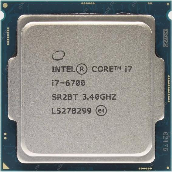 Procesador Intel Core I7-6700 6ta Generación Socket 1151
