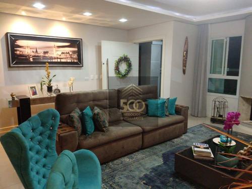 Casa Com 3 Dormitórios À Venda, 267 M² Por R$ 1.908.000,00 - Cidade Universitária Pedra Branca - Palhoça/sc - Ca0422