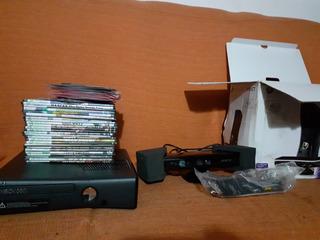 Xbox 360 Con Kinect Ltu 3.0 Y Rgh Instalado 320gb