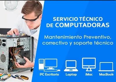 Servicio Técnico, Reparación, Instalación De Software, Red.