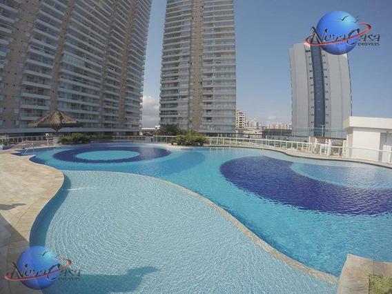 Apartamento 3 Dormitórios, Vila Mirim Na Praia Grande - Ap3373