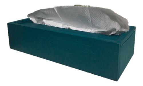 Imagen 1 de 5 de Dispensador Caja De Madera Para Toalla Papel