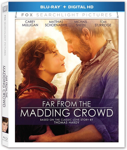 Imagen 1 de 2 de Blu-ray Far From The Madding Crowd Lejos Del Mundanal Ruido