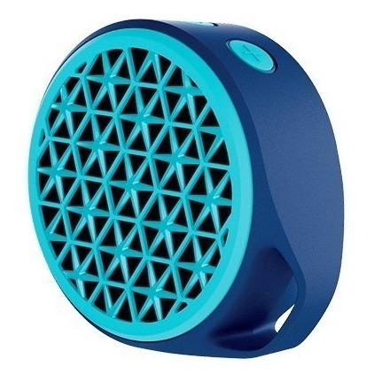 Caixa Som Portátil Bluetooth P2 Logitech X50 Azul Pc Celular