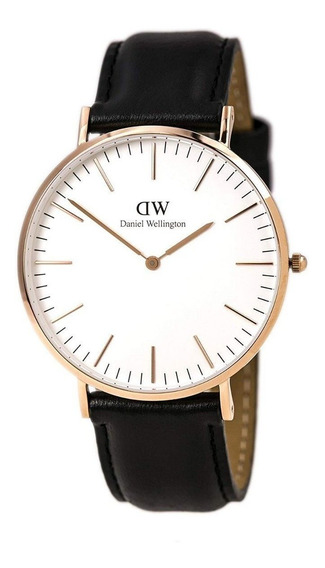 Daniel Wellington Classic Sheffield Dorado Blanco 40mm
