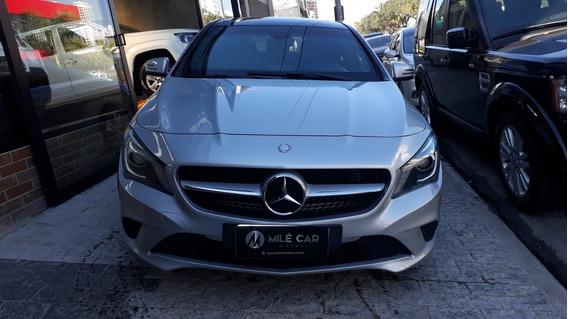Mercedes-benz Cla 200 Blindada Prata 2013/2014 Gasolina Aut