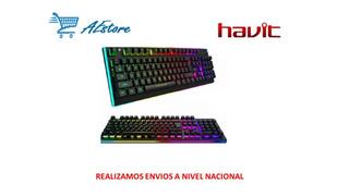 Teclado Gamer Havit Kb-391l Luces Programables