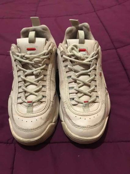 Zapatillas Fila Rosas Viejo